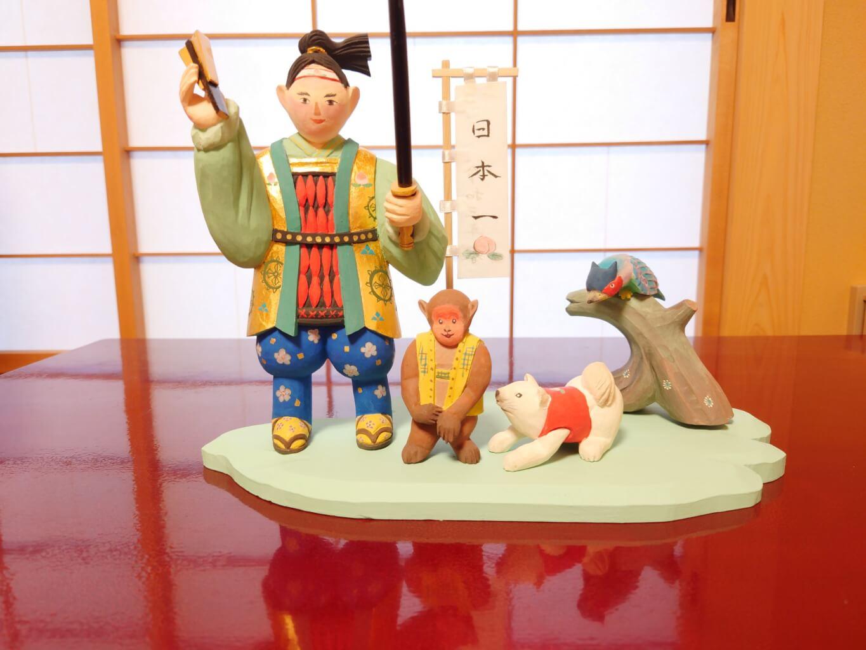 五月人形制作(木彫・彩色)