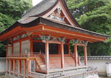 聖神社末社三神社本殿 修理前